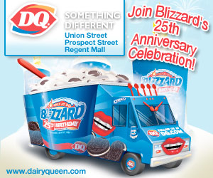Medium rectangle banner ad for Dairy Queen